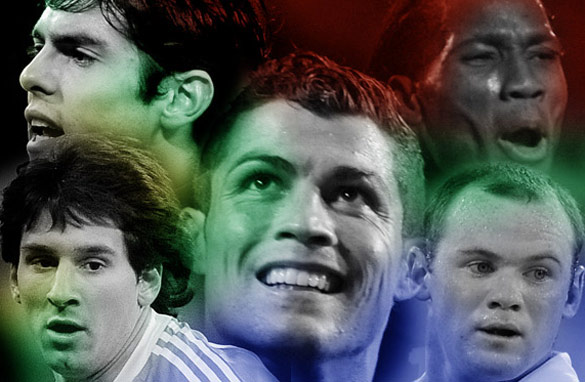 Which superstar will emerge as the best at the 2010 World Cup?