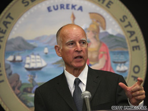 Jerry Brown's gubernatorial campaign reported Thursday that the California attorney general has 20.6 million dollars in the bank.