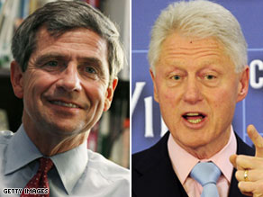 Former President Bill Clinton called Joe Sestak on the White House&#039;s behalf.