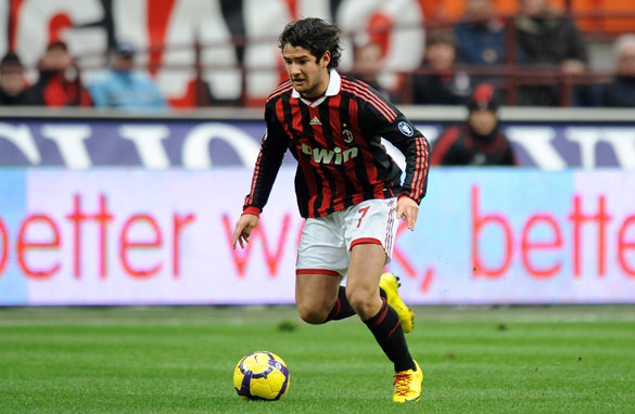 Pato was one of AC Milan's star players despite an injury-hit season/Getty Images.