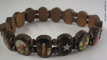 Someone In The Cnn Dc Bureau My Boss Actually Has Been Ping Out Battle Saint Bracelets This Week Honor Of Memorial Day Small Wooden