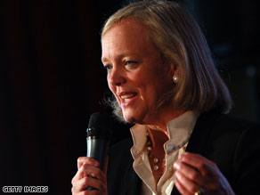 Meg Whitman is being targeted by union protests in the days leading up to the California gubernatorial primaries.