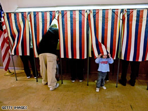Voters in Alabama, Mississippi and New Mexico cast their ballots Tuesday.