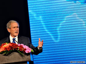 The office of former President George W. Bush has joined popular social networking sites Facebook and Twitter.