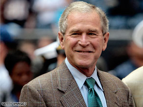 Former President George W. Bush said Wednesday he has no regrets about authorizing the controversial waterboarding technique to interrogate terrorist suspects.