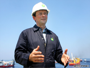 In a new TV spot, BP CEO Tony Hayward says, 'to those affected and your families, I'm deeply sorry. . . . we all feel the impact.'