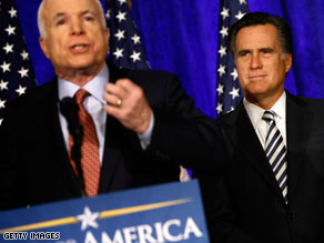John McCain and Mitt Romney are teaming up Friday in Arizona.