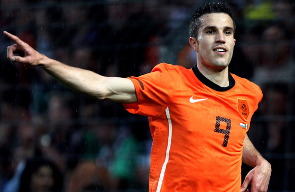Robin van Persie could be playing in a World Cup final, according to CNN's Pedro Pinto/Getty Images.
