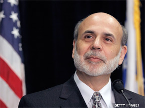 Bernanke warns that economic recovery is 'going to take a while.'