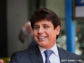 Blagojevich has denied any wrongdoing.