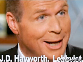 Sen. John McCain launched two new ads Tuesday painting J.D. Hayworth as a Washington insider.