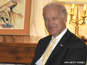 Vice President Joe Biden visited the homeland of President Barack Obama's father.