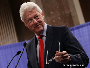  Bill Clinton is presiding over a wedding Saturday.