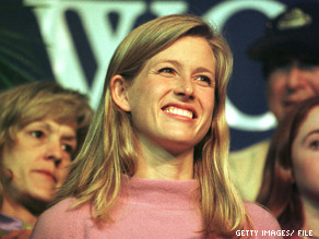  Karenna Gore Schiff, the oldest daughter of former Vice President Al Gore and Tipper Gore.