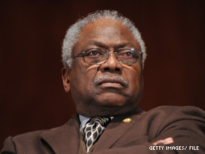 House Democratic Whip James Clyburn has called for an investigation into Alvin Greene's candidacy.