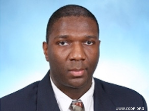 The Democrat who lost to political unknown Alvin Greene (above) in the South Carolina Senate primary is formally contesting the results of the election, citing 'strange circumstances' surrounding the vote.