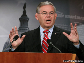 Sen. Robert Menendez said Thursday that Democratic candidates will win in November because Republican candidates are either 'poster childs' for failed policies or 'fringe candidates.'