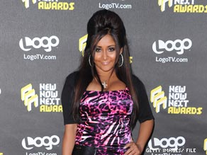 'McCain would never put a 10 percent tax on tanning.' Snooki said in a preview of Jersey Shore Season 2.