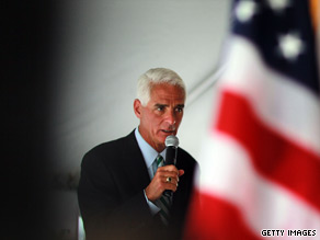 Will Florida Democrats vote for Republican-turned-independent Gov. Charlie Crist for Senate?