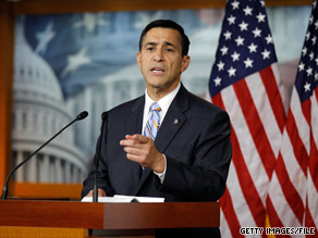 California Rep. Darrell Issa will address Pennsylvania Republicans on Friday.