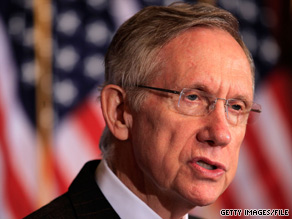  It didn&#039;t take Senate Majority Leader Harry Reid long to zero in on his Republican challenger&#039;s stance on Social Security.