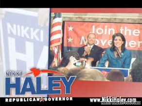 On Monday, Nikki Haley is up with her first TV ad of the South Carolina runoff election.