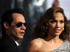 Quiz Jennifer Lopez and Marc Anthony.