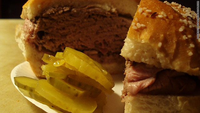Local Heroes: Beef on weck