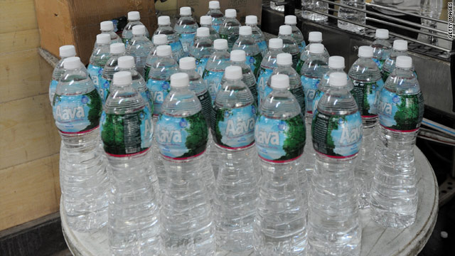 Bottled water faces backlash