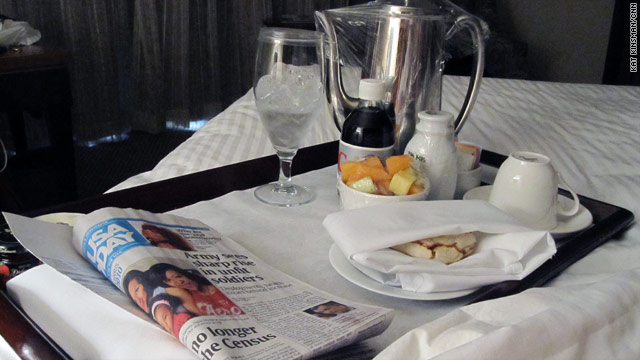 Tray Cool: Why I love room service breakfast