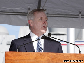 Navy Secretary Ray Mabus was selected by President Obama on Tuesday to help draw up the government's plan for recovery efforts in conjunction with officials in the Gulf Coast states.