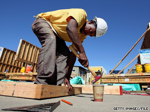 New home construction fell 10 percent in May.