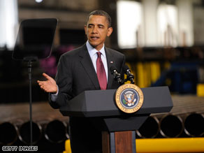 Obama will travel to Columbus, Ohio on Friday.