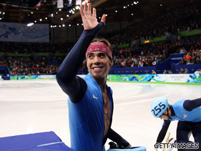 Apolo Anton Ohno is your Connector of the Day.