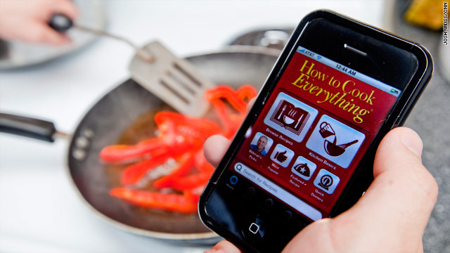 Cooking dinner? There's an app for that