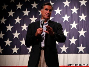 Mitt Romney is kicking off a 25 state tour.