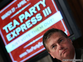 Mark Williams has resigned as the spokesman of the Tea Party Express.