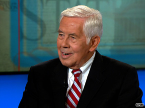 'We've never got to that point,' Sen. Lugar told CNN when asked how he'd know what success in Afghanistan looked like.