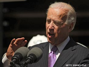 Biden is the headliner at a fundraiser for Alexi Giannoulias, the Democratic Senate nominee in Illinois.