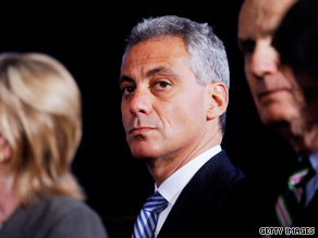  Emanuel is under fire from Sarah Palin.