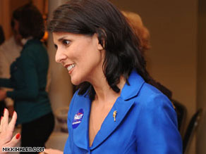 Nikki Haley earned more than $40,000 in 2007 and 2008 consulting for one of South Carolina's largest engineering firms.