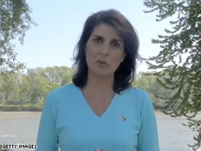 Nikki Haley voted to cut funding for election night site.