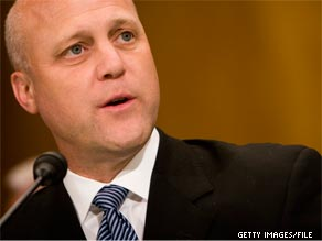 Mitch Landrieu told CNN that oil will likely continue gushing until August.