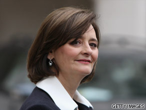Cherie Blair is your Connector of the Day.