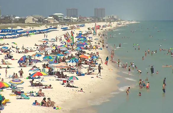 CNN Today Is The First Official Day Of Summer But Across Gulf Coast Beaches Sit Empty People Who Depend On Tourism Dollars Are Wondering How