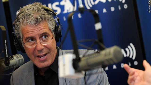 Anthony Bourdain's top food destination in America is...?