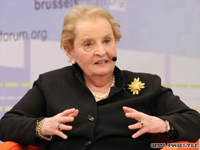 Madeleine Albright will write a memoir to be released in 2012, publishing house HarperCollins announced Wednesday.