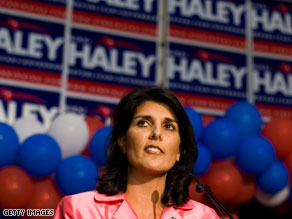 Nikki Haley won a contentious GOP runoff in South Carolina Tuesday night, and on Wednesday, the party gathered for a unity rally.