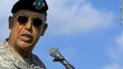 Retired Lt. Gen. Russel Honore knows about the pressure of being a top general.