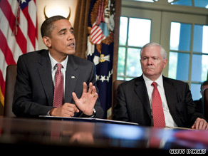 Defense Secretary Robert Gates backed keeping Gen. Stanley McChrystal on the job because he was vital to the war effort in Afghanistan.